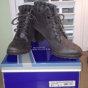 NWOT- White Mountain Suede Boots size 8.5 M